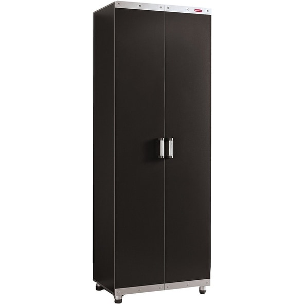 Rubbermaid Fasttrack Garage Storage System Tall Cabinet Fg5m1200cslrk