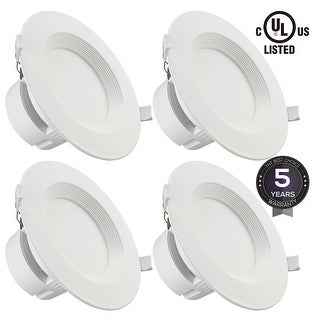 """6""""9W LED Recessed Downlight Kit with J-Box, Wet Location"""
