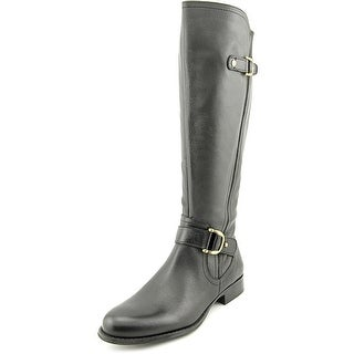 Naturalizer Jersey Wide Calf Women  Round Toe Leather  Knee High Boot