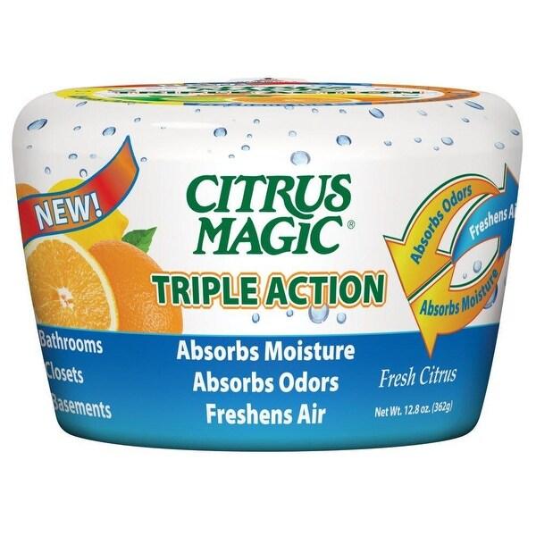 Citrus Magic 618372454 Triple Action Moisture & Odor Absorber