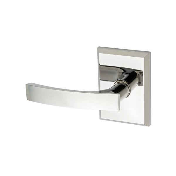 Montana Forge L6-R2-4290-LH Left Handed Single Dummy Door Knob Set with L6 Knob and R2 Rose from the Contemporary Collection