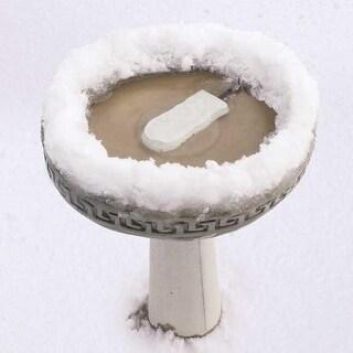 "K&H Pet Products Ice Eliminator Bird Bath De-Icer White 7"" x 3"" x 1"""