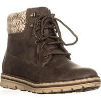 Cliffs by White Mountain Kansas Lace Up Ankle Boots, Stone