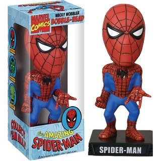 Marvel Funko Wacky Wobbler Bobble Head Spider-Man - multi
