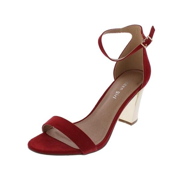 Madden Girl by Steve Madden Womens Bella-M Dress Sandals Open Toe Metallic - 10 medium (b,m)