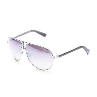 Just Cavalli Women's Silver Pilot Sunglasses Silver - Small