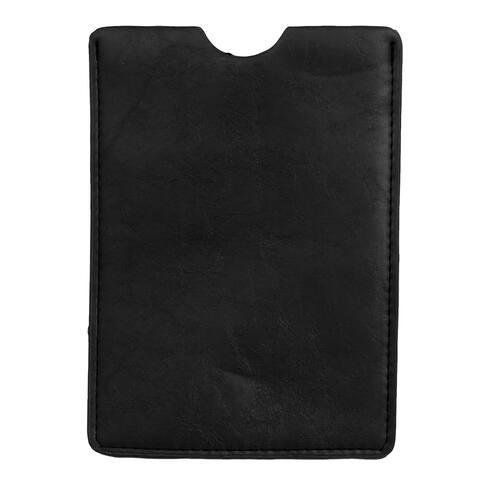 Unique Bargains Black Faux Leather Universal Inline Protective Case Cover for 7 Tablet PC