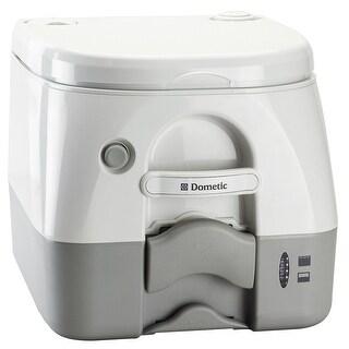 Dometic 974msd portable toilet 2.6 gal gray w/ brackets msd 301197406