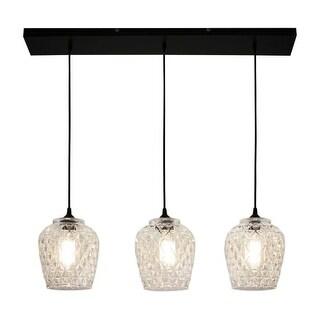 "Bazz Lighting P16819 3 Light 35-1/2"" Wide LED Linear Pendant"