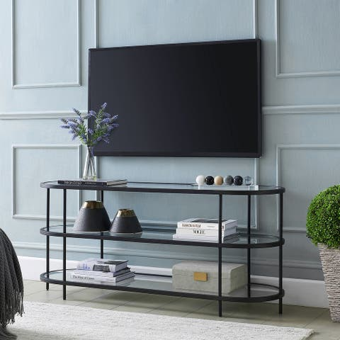 """Leif Oval TV Stand for TVs up to 60"""" - 55 Inch"""