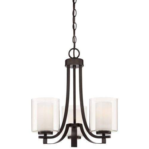 Minka Lavery 4103-172 3 Light 1 Tier Chandelier from the Parsons Studio Collection