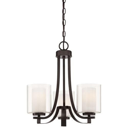 Minka Lavery 4103-172 3 Light 1 Tier Chandelier from the Parsons Studio Collection - Thumbnail 0