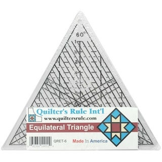 """Quilter's Equilateral Triangle Ruler-7-3/4"""""""