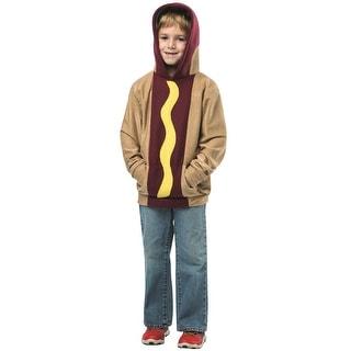 Rasta Imposta Hoodie Hot Dog Child Costume - Multi - 4-6