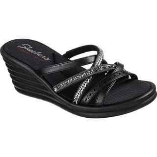 4296e0903d97 Shop Skechers Women s Rumblers Wave New Lassie Slide Wedge Sandal ...