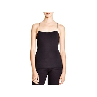 T by Alexander Wang Womens Cami Strappy Cut-Out Back - L