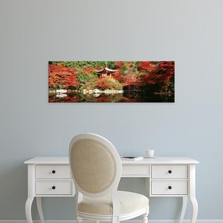Easy Art Prints Panoramic Images's 'Daigo Temple, Kyoto, Japan' Premium Canvas Art