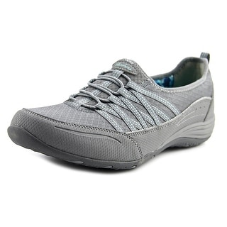 Skechers Go Big Women  Round Toe Synthetic Gray Loafer