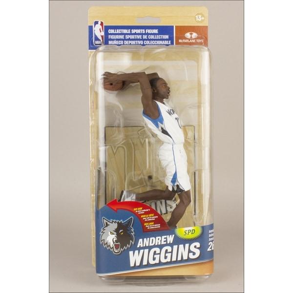 McFarlane NBA Series 26 Minnesota Timberwolves Andrew Wiggins Figure - multi