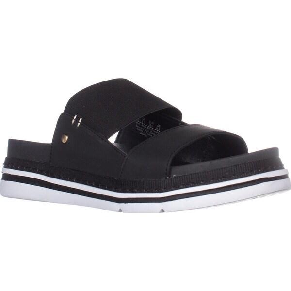 Dr. Scholls Blink Slide Platform Sandals, Black