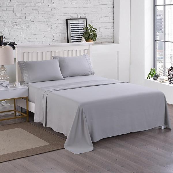 Egyptian Comfort 2200 Count 4Piece Bed Sheet Set Deep Pocket. Opens flyout.