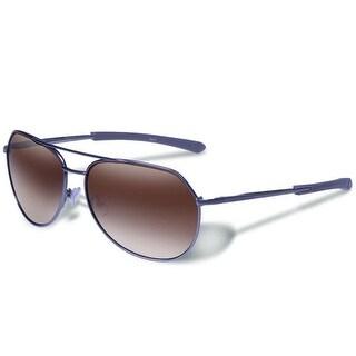 Gargoyles Victor Polarized Sunglasses Matte Gun Frame/Brown Gradient Lenses