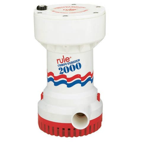 Rule 31493M RULE 2000 GPH AUTOMATIC BILGE PUMP - Black