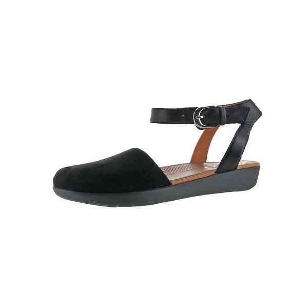 Fitflop Womens Cova Strap Sandals Closed-Toe Toning