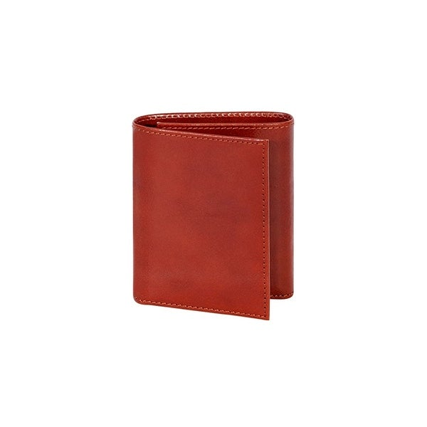 Scully Western Wallet Italian Leather Tri-Fold Card Holder - One size