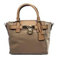 1cc93dda3d89 Shop Michael Kors Hamilton Medium Leather Messenger - Acorn ...