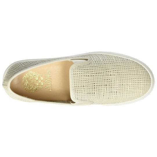 Vince Camuto Womens Becker Leather Low
