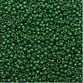 Toho Round Seed Beads 15/0 47H - Opaque Pine Green (8 Grams) - Thumbnail 0