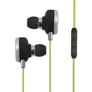 Outdoors Sport Phone Wireless Stereo Noise Cancelling bluetooth Headset Green