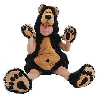 Bruce The Bear Deluxe Toddler Costume - Black
