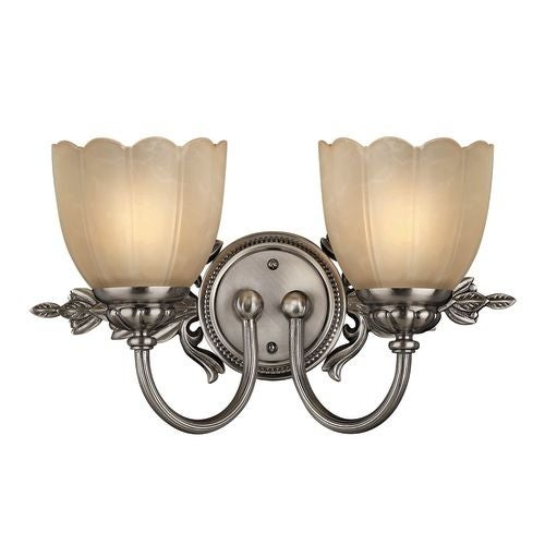 """Hinkley Lighting H5392 2 Light 16.75"""" Width Bathroom Vanity Light from the Isabella Collection"""
