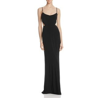 Laundry by Shelli Segal Womens Evening Dress Cut-Out Adjustable Straps