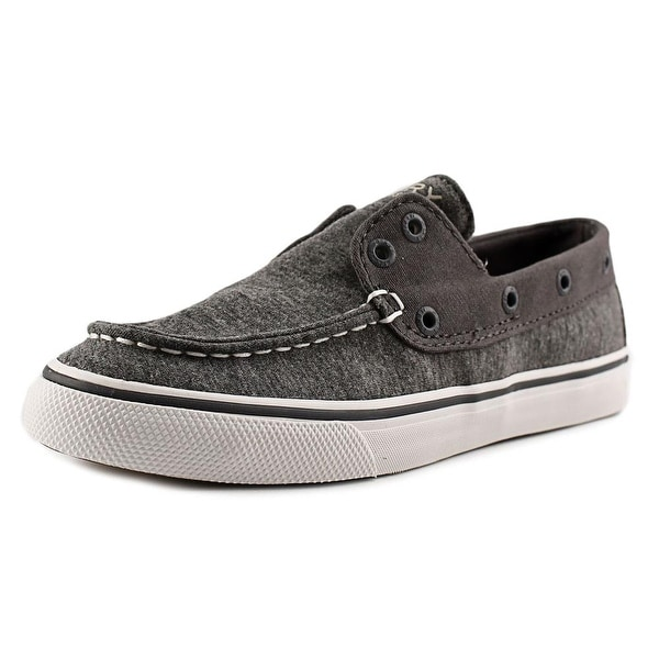 Sperry Top Sider Biscayne Women Moc Toe Canvas Gray Loafer