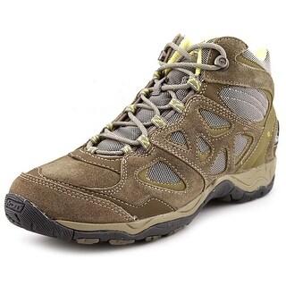 Hi-Tec Sienna Mid WP Women Round Toe Leather Hiking Shoe
