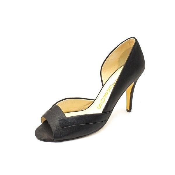 Caparros Brasilia Women Open-Toe Canvas Heels