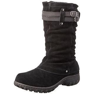 Khombu Womens Mallory Snow Boots Cuffed Waterproof