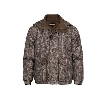 Rocky Outdoor Jacket Mens Waterfowl Insulated Bottomland Camo - mossy oak bottomland camo