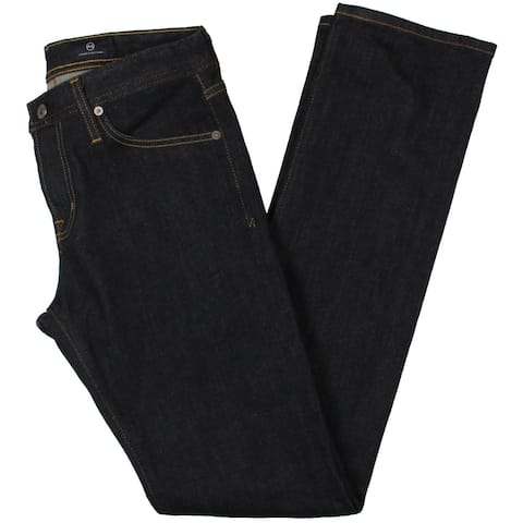 AG Adriano Goldschmied Mens The Matchbos Straight Leg Jeans Denim Slim-Fit - Jack Blue - 30/34