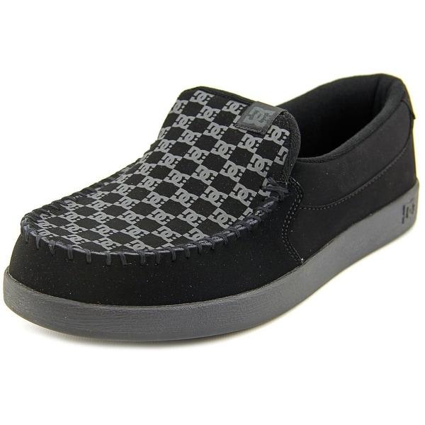 DC Shoes Villain Men Moc Toe Leather