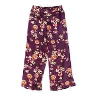 Harlowe & Graham NEW Red Womens Size Large L Floral Printed Pants