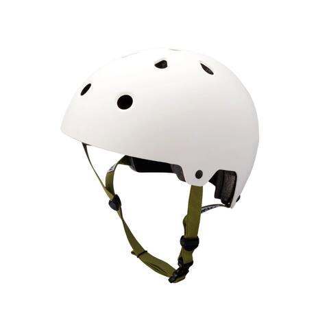 Kali Protectives Bike Helmet MAHA (Large, White)