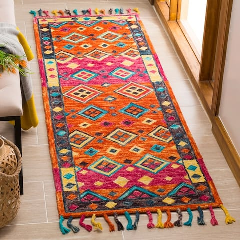 Safavieh Handmade Aspen Dona Boho Tribal Wool Rug