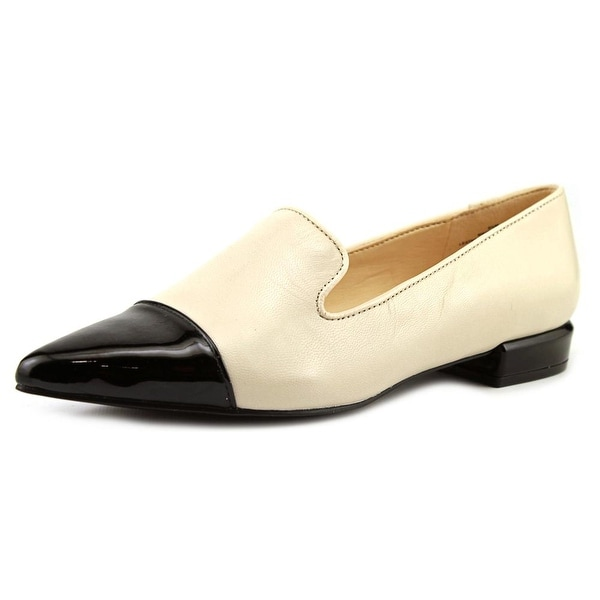 Nine West Trainer Women Pointed Toe Leather White Loafer