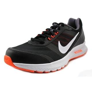 Nike Air Relentless 5 Men Round Toe Synthetic Black Running Shoe