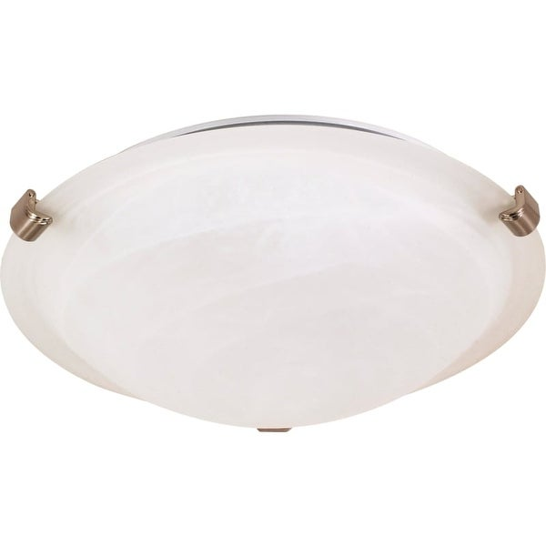 "Nuvo Lighting 60/271 2 Light 16-1/8"" Wide Flush Mount Bowl Ceiling Fixture"