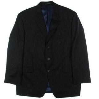 Lauren Ralph Lauren Mens Three-Button Blazer Wool Pinstripe - 46r
